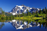 Shuksan Reflections I Photographic Print by Douglas Taylor