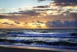 Ocean Sunrise II Fotografie-Druck von Alan Hausenflock