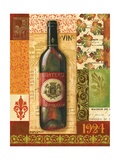 Old World Wine II Premium Giclee Print by Gregory Gorham