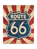 Route 66 I Giclee Print by N Harbick