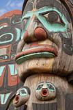 Totem Detail V Photographic Print by Kathy Mahan