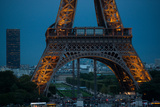 Eiffel Tower at Night V Photographic Print by Erin Berzel