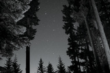 BW Starry Night I Photographic Print by Erin Berzel