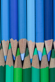 Colored Pencils I Photographic Print by Kathy Mahan
