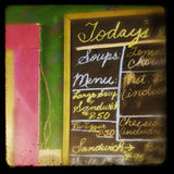 Today's Menu Photographic Print by Roberta Murray