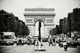 Ave Champs Elysees I Photographic Print by Erin Berzel