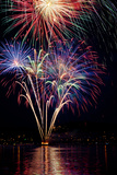Poulsbo Fireworks I Photographic Print by Kathy Mahan