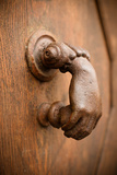 French Door Knocker I Photographic Print by Erin Berzel