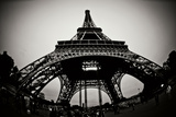 Eiffel Tower Fisheye Photographic Print by Erin Berzel