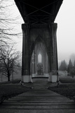 BW St. Johns Arches VI Photographic Print by Erin Berzel