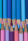 Colored Pencils II Photographic Print by Kathy Mahan