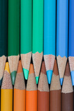 Colored Pencils III Photographic Print by Kathy Mahan