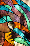 Stained Glass II Photographic Print by Karyn Millet