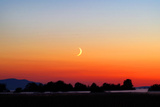 Crescent at Sunset Photographic Print by Douglas Taylor