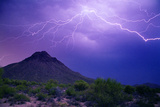 Mountain Lightning Photographic Print by Douglas Taylor