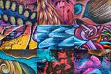 Graffiti I Fotografisk trykk av Kathy Mahan