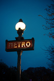 Paris Metro III Photographic Print by Erin Berzel