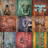 On the Door I Photographic Print by Kathy Mahan