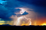 Evening Storm Photographic Print by Douglas Taylor