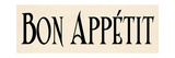 Bon Appetit I Premium Giclee Print by N. Harbick