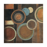 Abstract Circles I Giclee Print by Kimberly Poloson