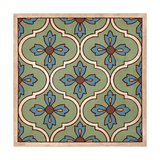 Tile Pattern I Giclee Print by N Harbick