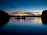 Twilight on the Lake IV Photographic Print by Beth Wold