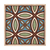 Tile Pattern III Giclee Print by N Harbick