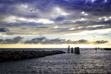Cedar Island Quay I Photographic Print by Alan Hausenflock