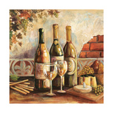 Bountiful Wine Sq I Prints by Gregory Gorham