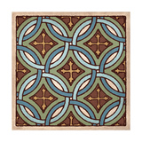 Tile Pattern IV Giclee Print by N Harbick