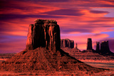 Monoliths at Dawn Photographic Print by William Castner