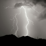 Summer Lightning I BW Photographic Print by Douglas Taylor
