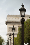 Parisian Lightposts I Photographic Print by Erin Berzel