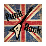 Punk Rock Giclee Print by N. Harbick
