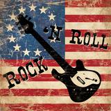 Rock N Roll Póster por N. Harbick