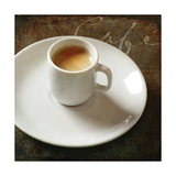Cafe IV Premium Giclee Print by Amy Melious