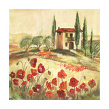 Poppy Field I Giclee Print by Gregory Gorham