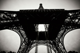 Beneath the Eiffel Tower II Photographic Print by Erin Berzel