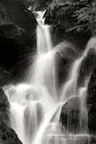 Falling Water II BW Fotodruck von Douglas Taylor