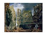 Max Ernst - The Sound of Silence, 1943-44 Digitálně vytištěná reprodukce