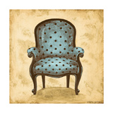Blue Chair V Prints by Gregory Gorham
