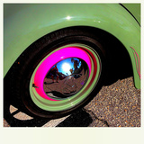 Pink Wheel Photographic Print by  iPhonePhil