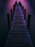 Dark Pier Photographic Print by Ricardo Demurez