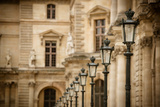 Louvre Lampposts II Photographic Print by Erin Berzel