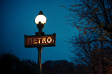 Paris Metro I Photographic Print by Erin Berzel