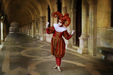 Harlequin in Red and Gold Photographic Print by Ursula Kuprat