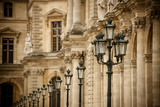 Louvre Lampposts I Photographic Print by Erin Berzel