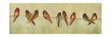 Birds of a Feather Panel II Posters par Jeni Lee