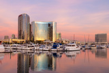 San Diego Waterfront II Photographic Print by Kathy Mahan